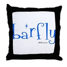Bar Fly Throw Pillow