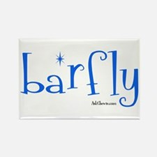 Bar Fly Rectangle Magnet