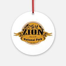 Zion Utah Ornament (Round)