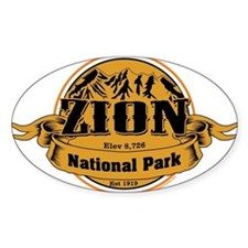 Zion Utah Decal