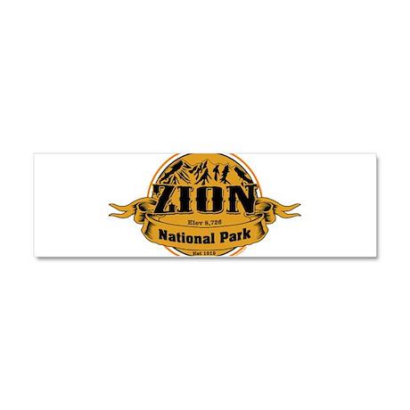 Zion Utah Car Magnet 10 x 3