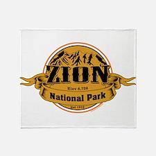 Zion Utah Throw Blanket