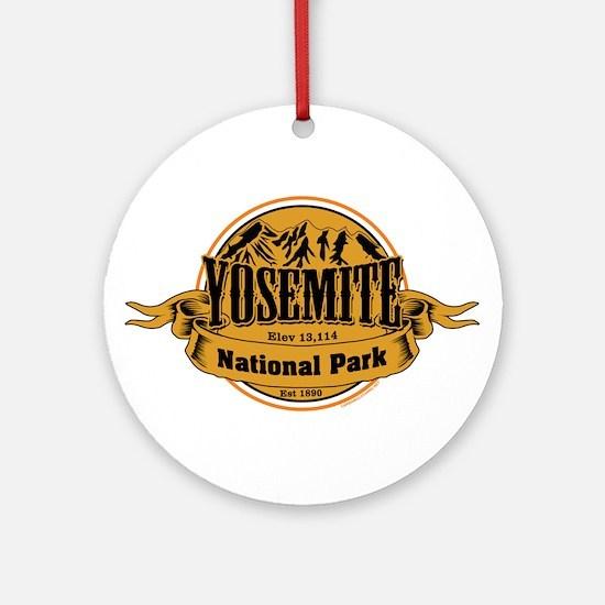 Yosmite California Ornament (Round)