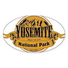 Yosmite California Decal