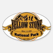 Yellow Stone Wyoming Decal