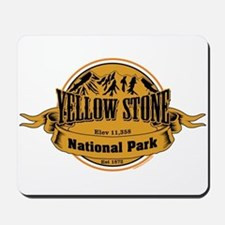 Yellow Stone Wyoming Mousepad