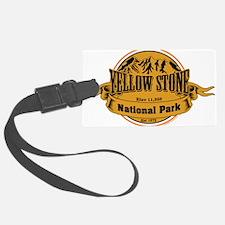 Yellow Stone Wyoming Luggage Tag