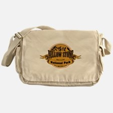 Yellow Stone Wyoming Messenger Bag