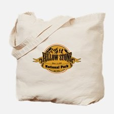 Yellow Stone Wyoming Tote Bag
