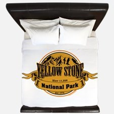 Yellow Stone Wyoming King Duvet
