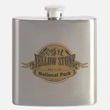 Yellow Stone Wyoming Flask