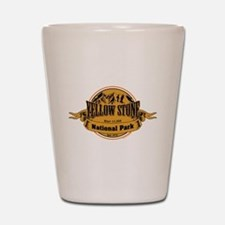 Yellow Stone Wyoming Shot Glass