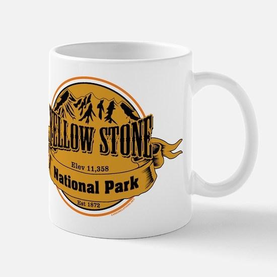 Yellow Stone Wyoming Mug