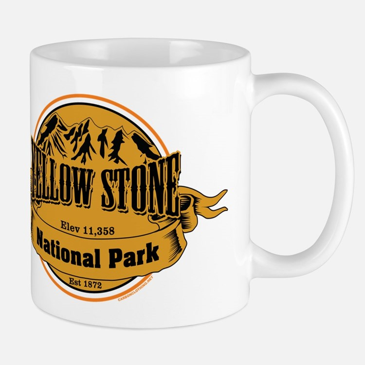 Yellow Stone Wyoming Mug