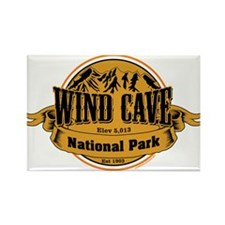 Wind Cave South Dakota Rectangle Magnet