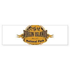 Virgin Islands, Virgin Islands Bumper Bumper Sticker