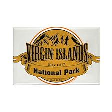 Virgin Islands, Virgin Islands Rectangle Magnet