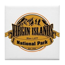 Virgin Islands, Virgin Islands Tile Coaster