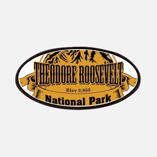 Theodore Roosevelt , North Dakota Patches