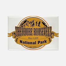 Theodore Roosevelt , North Dakota Rectangle Magnet