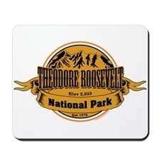 Theodore Roosevelt , North Dakota Mousepad