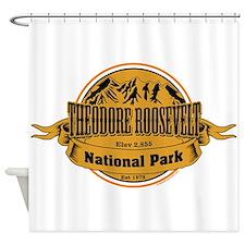 Theodore Roosevelt , North Dakota Shower Curtain