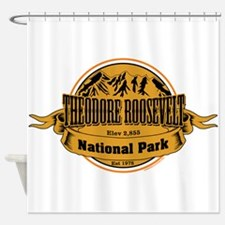 Theodore Roosevelt , North Dakota Shower Curtain
