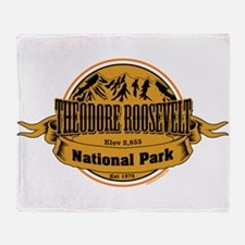 Theodore Roosevelt , North Dakota Throw Blanket