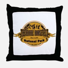 Theodore Roosevelt , North Dakota Throw Pillow