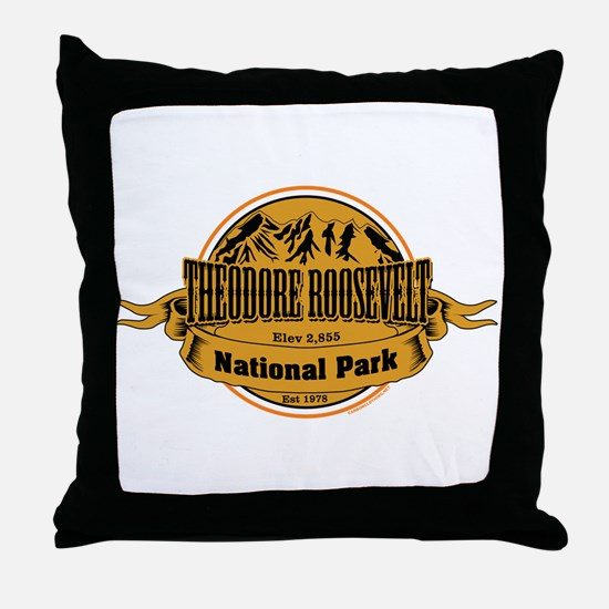 Theodore Roosevelt , North Dakota Throw Pillow