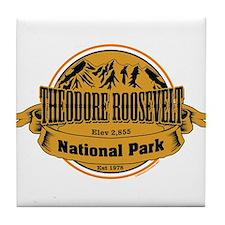 Theodore Roosevelt , North Dakota Tile Coaster