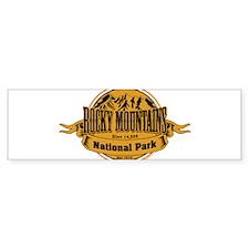 Rocky Mountains, Colorado Bumper Bumper Sticker