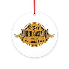 North Cascades, Washington Ornament (Round)