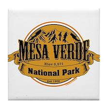 Mesa Verde, Colorado Tile Coaster