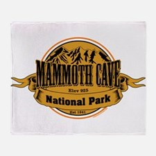 Mammoth Cave, Kentucky Throw Blanket