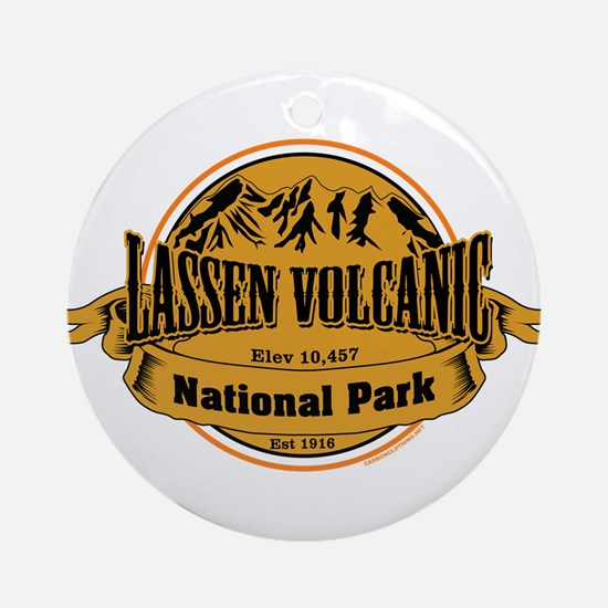 Lassen Volcanic, California Ornament (Round)