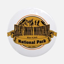 Great Smokey Mountains, Tennessee Ornament (Round)