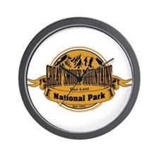 Great Smokey Mountains, Tennessee Wall Clock