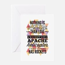 Stronger Than Love Greeting Card