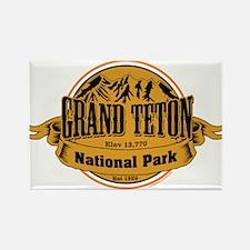 Grand Teton, Wyoming Rectangle Magnet