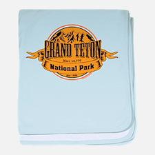Grand Teton, Wyoming baby blanket