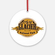 Glacier, Montana Ornament (Round)