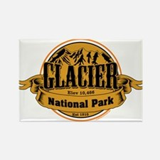 Glacier, Montana Rectangle Magnet