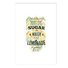 Life Lemons Lemonade Postcards (Package of 8)