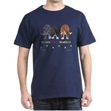 Nothin' Butt Beardies Navy T-Shirt
