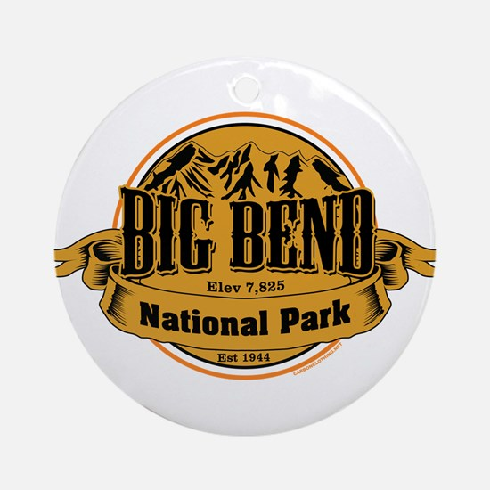 Big Bend, Texas Ornament (Round)