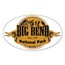 Big Bend, Texas Decal