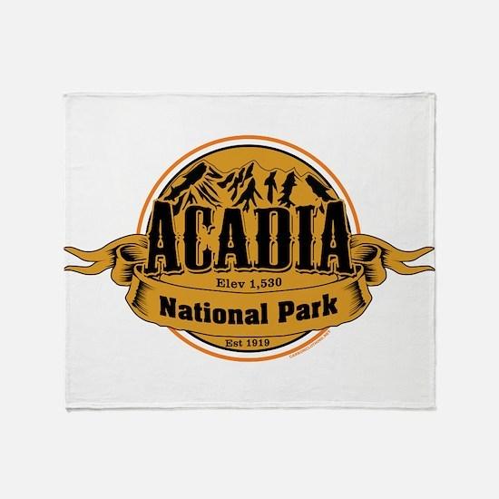 Acadia, California Throw Blanket