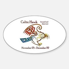 Celtic Hawk Decal