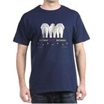 Nothin' Butt Bichons Navy T-Shirt
